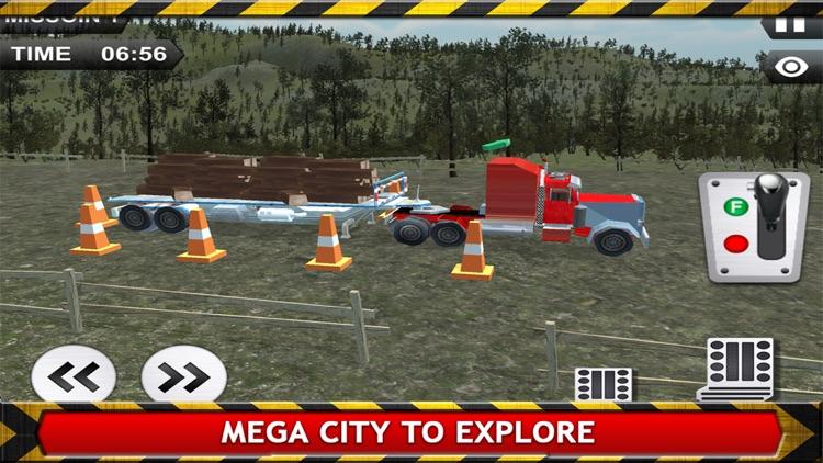 Transport Truck Driver Simulator 3D screenshot-4
