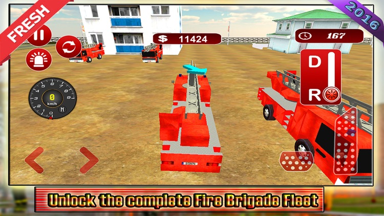 Fire Truck Driving 2016 Adventure – Real Firefighter Simulator with