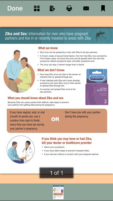 Zika Virus - Pregnancy, Symptoms and Sex Screenshot