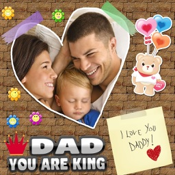 Happy Father's Day Photo Collage