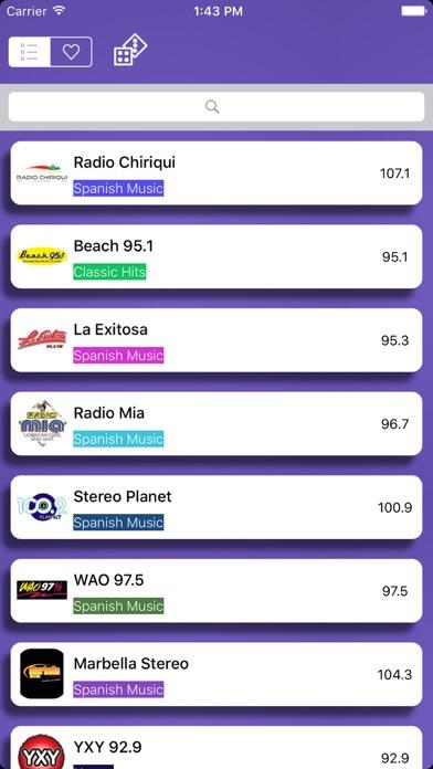 Radio Panamá - FM AM screenshot two
