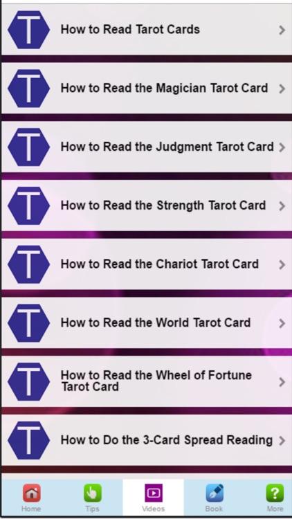 How to Read Tarot Cards - Basic Beginner Advice screenshot-3