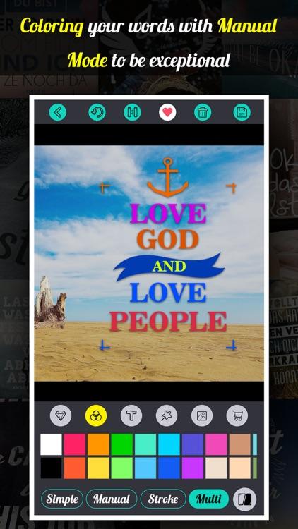 Fontkit - Typography Generator, Cool Fonts and Creative Photo Designer screenshot-3