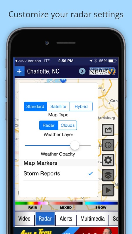 WSOC-TV Channel 9 Weather App - Online Game Hack and Cheat
