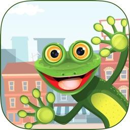 Jumper Frog In City