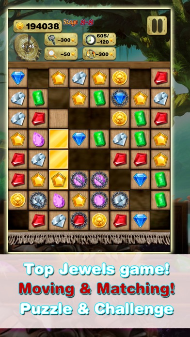 Gem Quest - Jewel Games Puzzle screenshot one