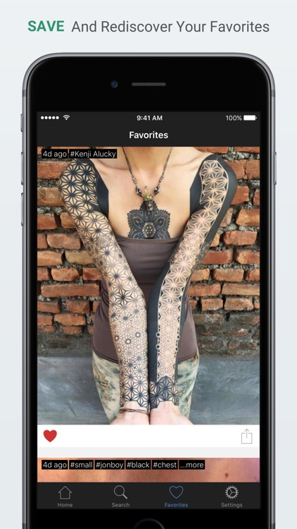 Inked - Your tattoo companion app - Find and save the best tattoo ideas and designs screenshot-3