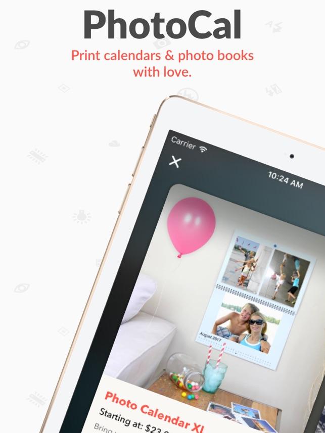 Photocal Photo Calendar On The App Store
