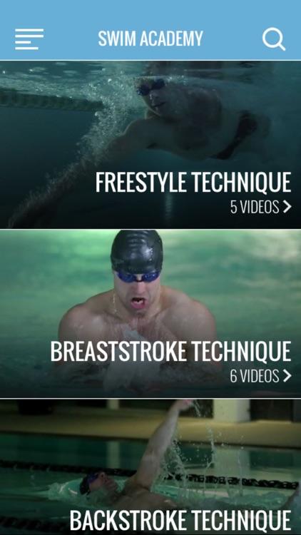 Swim Academy - swimming technique guides