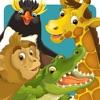 Animal & Zoo Jigsaw Cartoon Puzzle For Kids