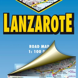 Lanzarote. Road map