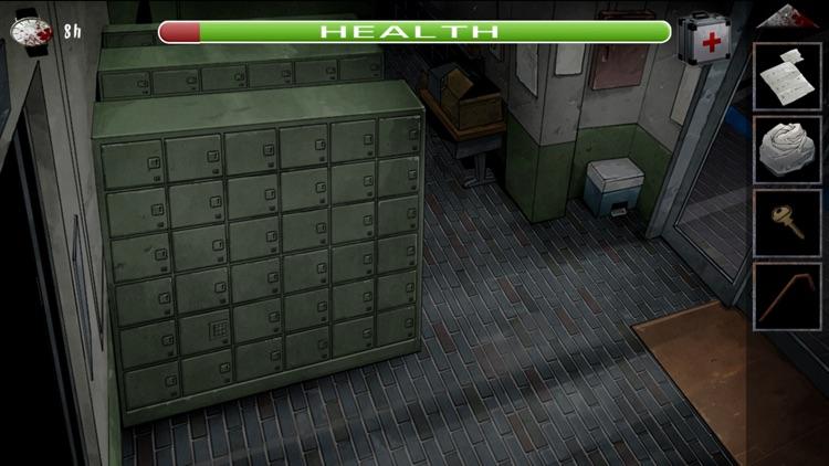 No Escape :  Escaping  the Zombie College screenshot-3
