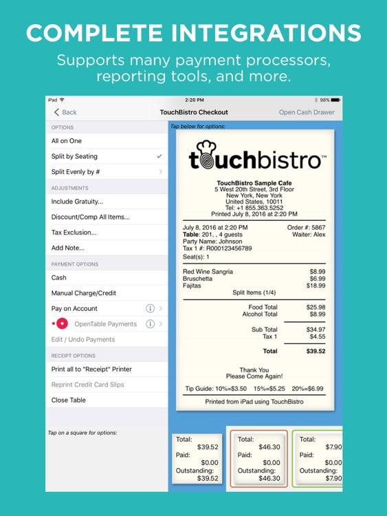 TouchBistro Point of Sale screenshot-4