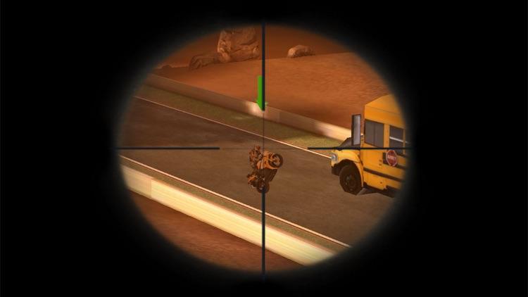 Spy Moto Sniper Attack - Death Moto bike Hunter : fully free game screenshot-3