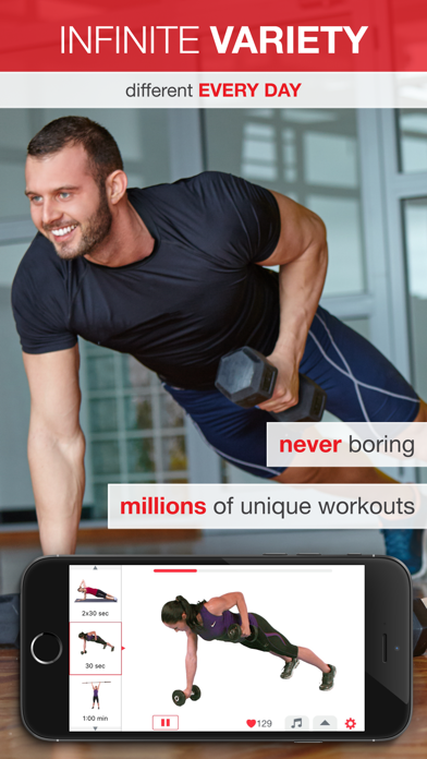 7 Minute Workout - Beginner to Advanced High Intensity Interval Training (HIIT)のおすすめ画像4