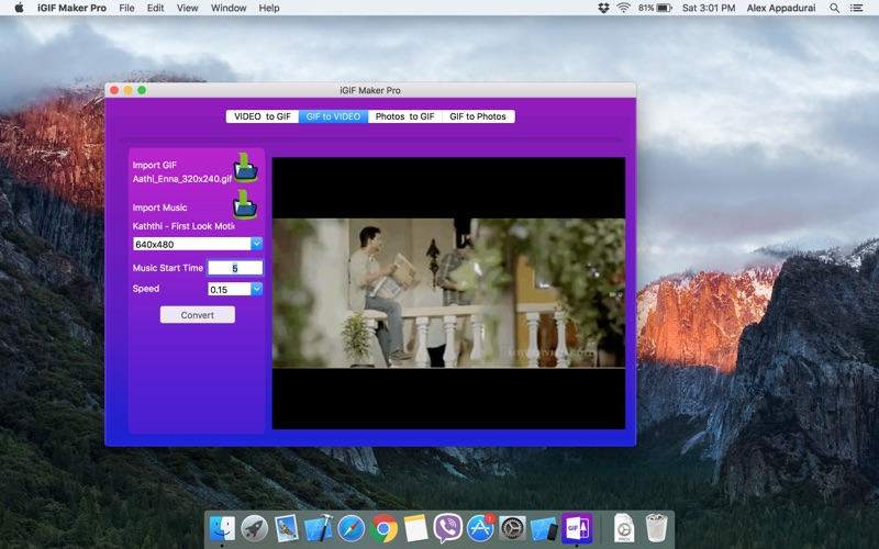 iGIF Maker Pro for Mac