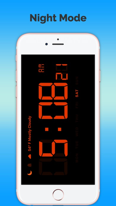 天氣預報時鐘免費屏幕截圖4