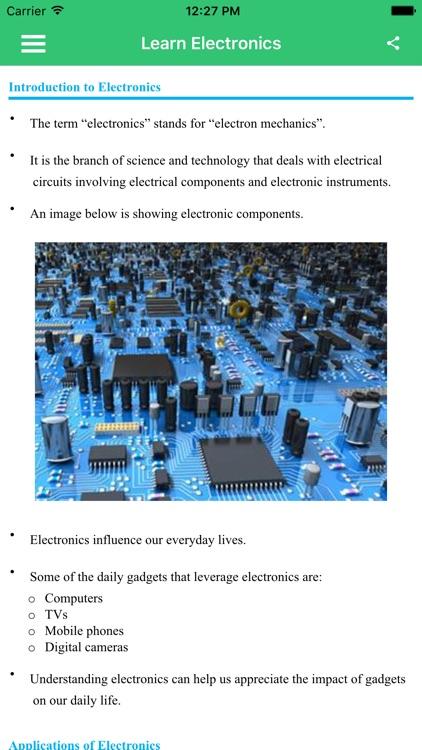Learn Electronics Full