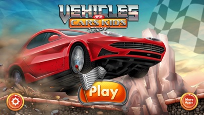 Vehicles And Cars Kids Racing Car Racing Game For Kids Simple And