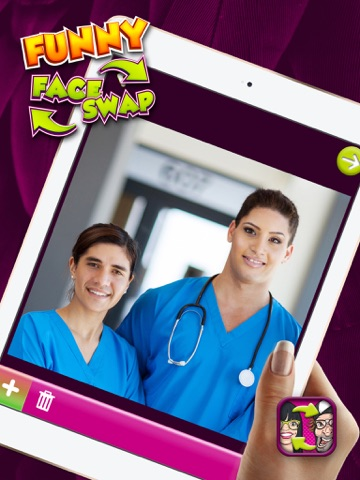 funny face swap transform and switch faces with free photo editor