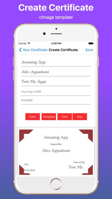 Create Your Own Certificate Proのおすすめ画像3