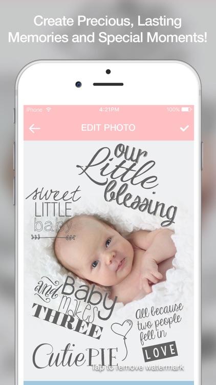 Baby Sticker - Capture Baby Milestones and Pregnancy Milestone to Make Baby Story for Instagram screenshot-3
