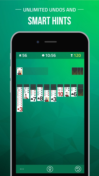 Spider Solitaire Card Game.
