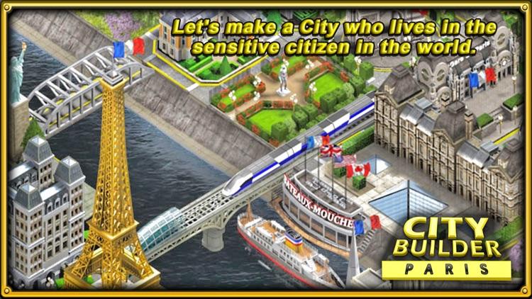 CITY BUILDER - PARIS screenshot-4