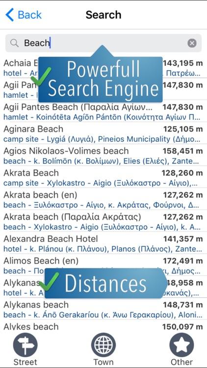 Peloponnese Travelmapp screenshot-3