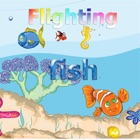 Fighting fish game icon
