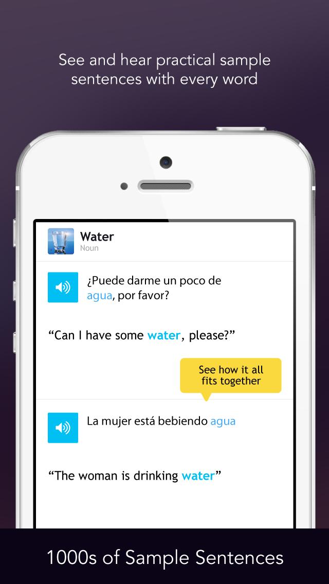 Learn Spanish - Free WordPower screenshot four