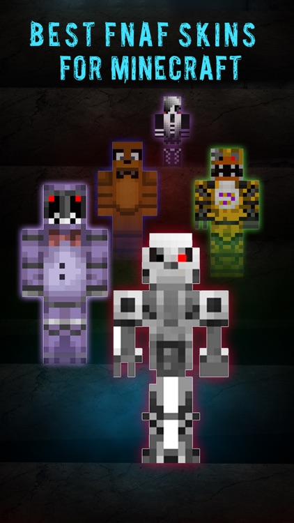 Best FNAF Skins Collection - FREE Skin Creator for MineCraft Pocket Edition