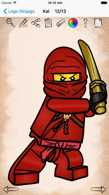Learn How to Draw Lego Ninjago Edition screenshot-4