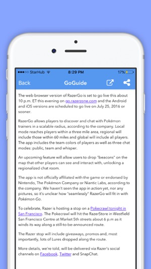 poke radar app for android