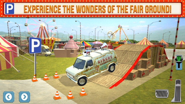 Amusement Park Fair Ground Circus Trucker Parking Simulator screenshot-2