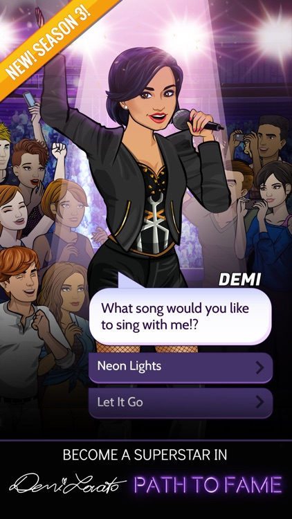 Demi Lovato: Path to Fame screenshot-0