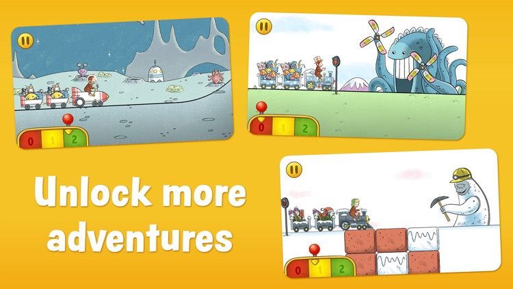 Curious George Train Adventures screenshot-4