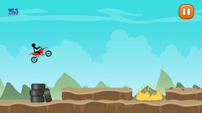 Epic Stick-Man BMX Dirt-Bike Motor-cycle Madness screenshot one