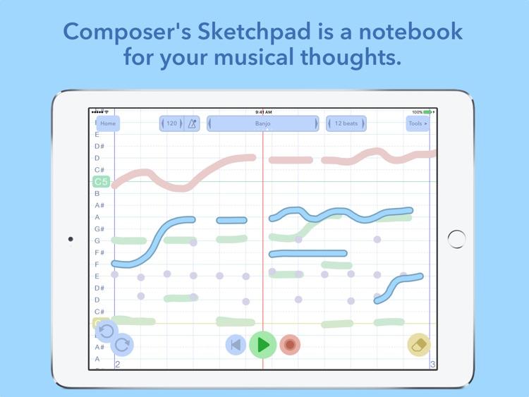 Composer's Sketchpad Lite screenshot-0