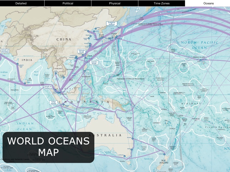 World Map for iPad screenshot-4