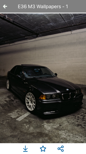 HD Car Wallpapers   BMW M3 E36 Edition On The App Store