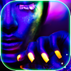 Neon Nails for Party Girls – Style Makeover and Spa Nail Treatment in a Fashion Manicure Salon