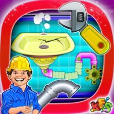 Activities of House Plumber Repairing – Repair & fix home sanitary in this kids game