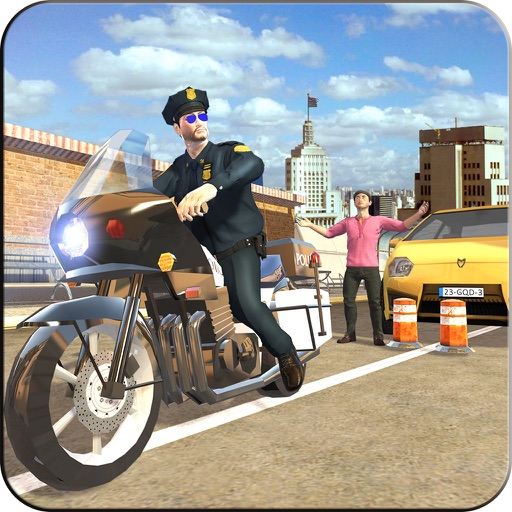Extreme Traffic Police Bike - Ride Motorcycle & Chase Criminals in City iOS App