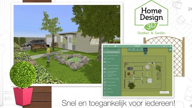 Tuin Ontwerpen App : Tuin ontwerpen ipad