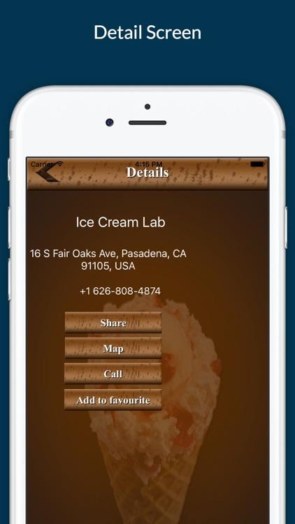 Ice Cream Finder screenshot-3