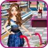 超市购物女孩-顶尖的自由时间管理收银台杂货商店游戏的女孩