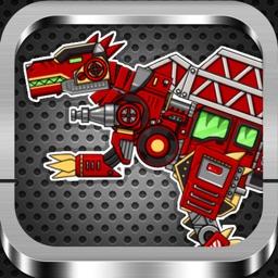 Tinder Dinosaur Puzzle of Fire:fun war dragon bady free games for ipad