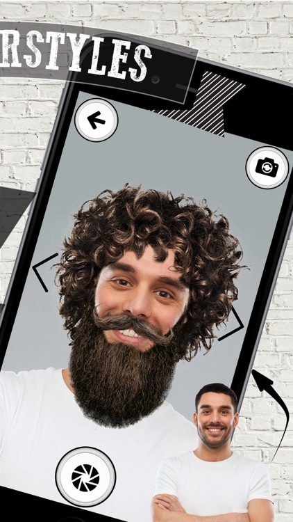 Men HairStyles Photo Editor – Virtual Barber Shop