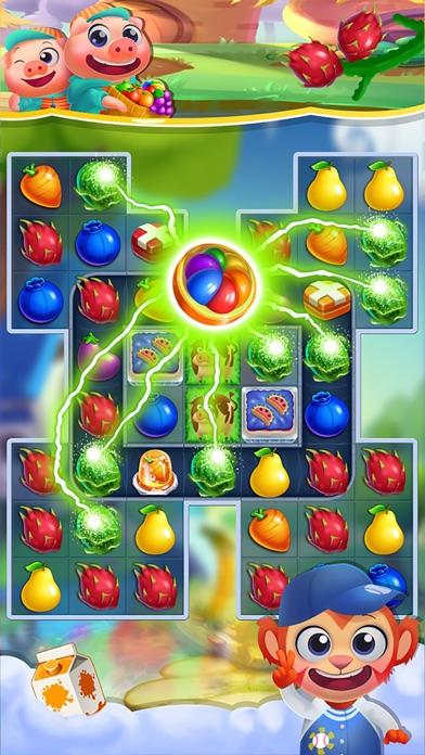 マジックファームヒーロースーパー: ゼリークラッシュキャンディーパズル無料ゲームのスクリーンショット3
